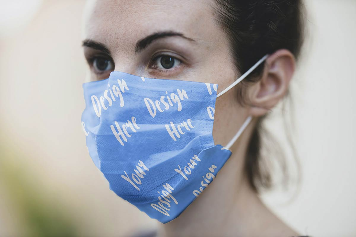 Free-Medical-Face-Mask-Mockup