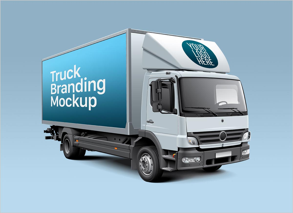 Free-White-Cube-Truck-Branding-Mockup-PSD